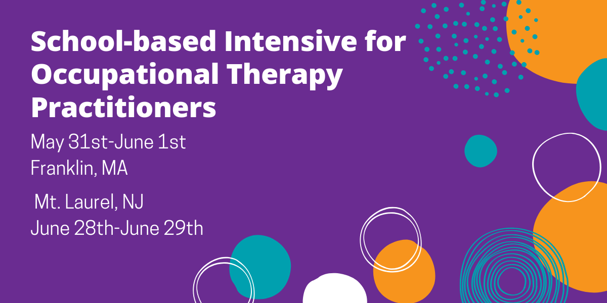 School-Based Intensive for Occupational Therapy