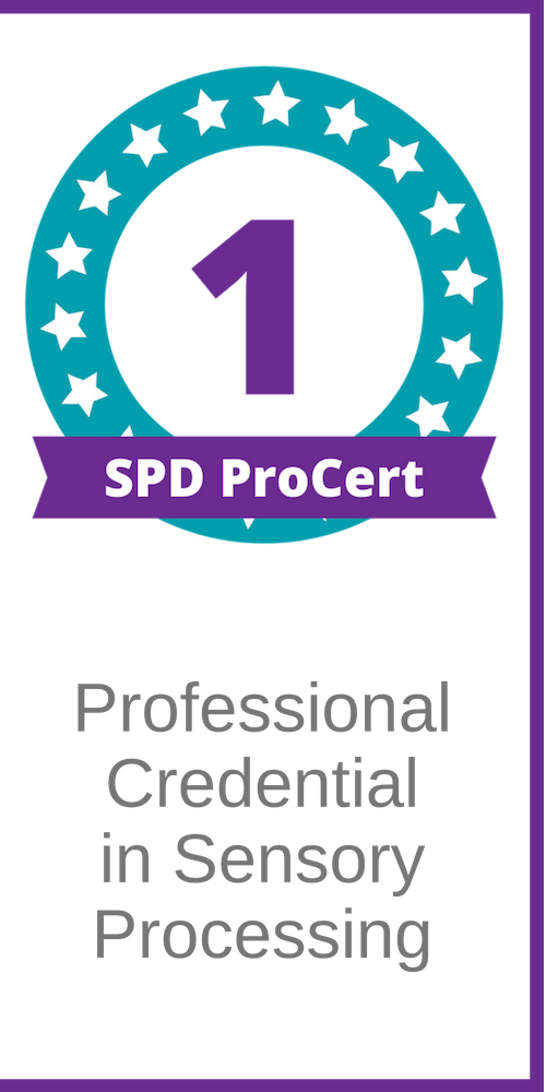SPD ProCert 1: Professional Credential in Sensory Processing